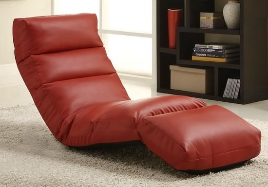 High Quality Most Comfortable Modern Floor Chairs For Living Room With Red Colorful  Design Comfortable Living Room Chair