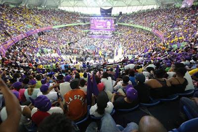 Danilistas llenan el Palacio de los Deportes en acto donde promueven su obra de Gobierno