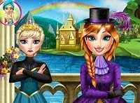 Frozen Anna Y Elsa Fashion Rivals