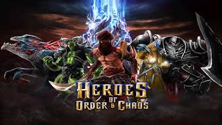Download Gratis Heroes Of Order & Chaos Mod Apk + Data Terbaru 2016