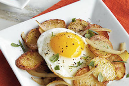 Potato and Egg dish