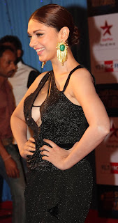 Aditi Rao Hydari in Black Gown