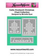 Celtic knotwork Christmas Charts