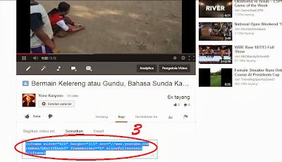 Memasang Vidio Youtube Menjadi Responsive3