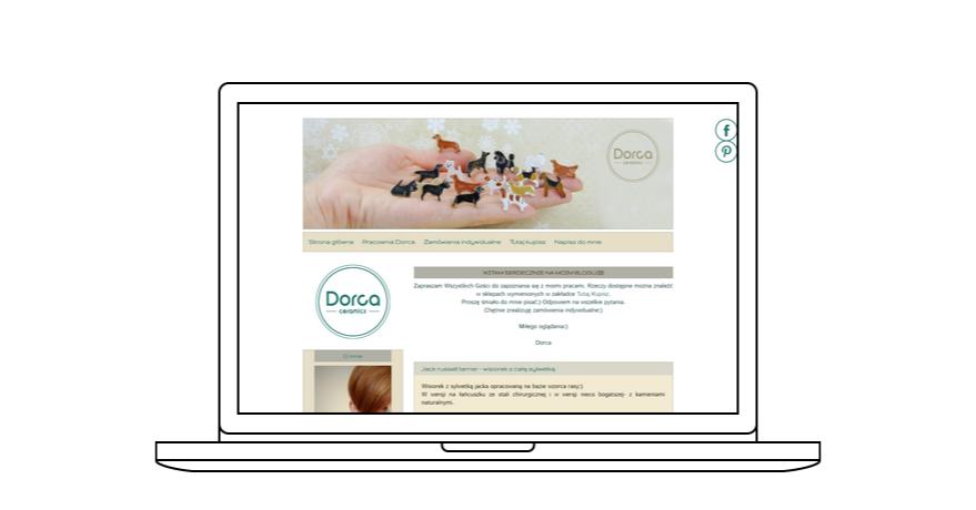 projekt bloga Dorca Ceramics