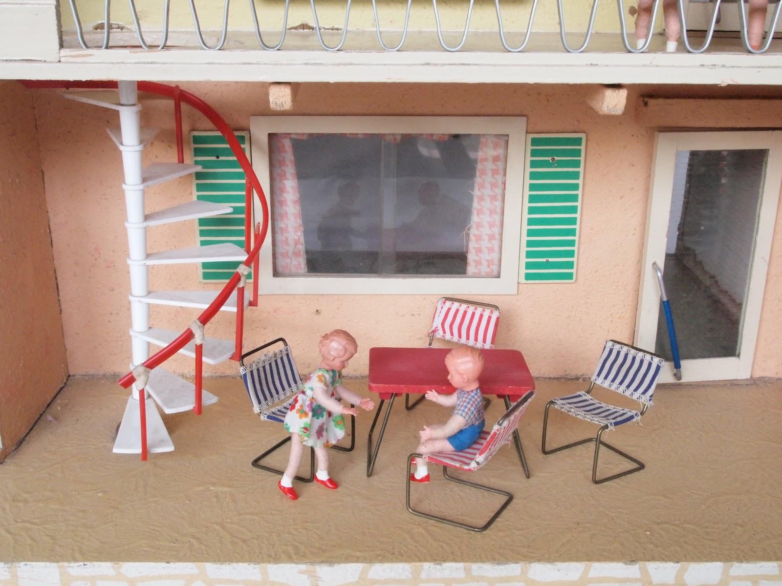diepuppenstubensammlerin puppenhaus 1966 gottschalk dolls house. Black Bedroom Furniture Sets. Home Design Ideas