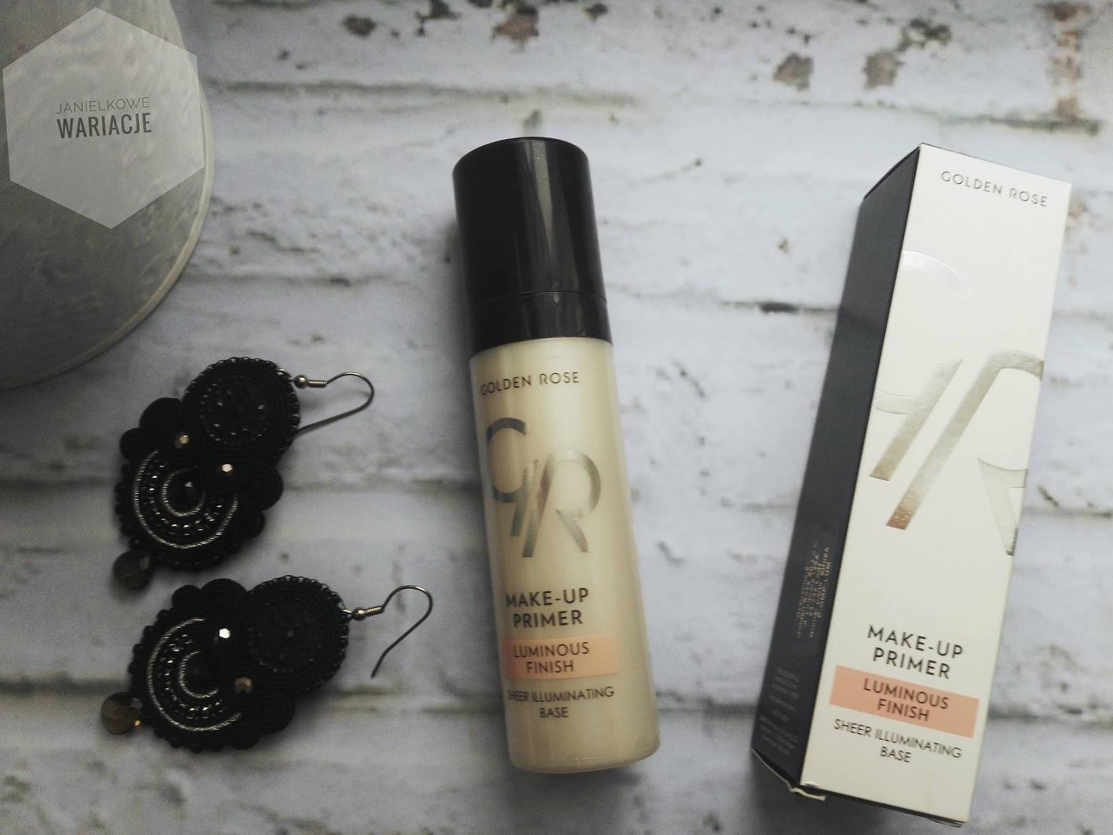 Make Up Primer Luminous Rozświetlająca Baza Pod Makijaż Golden