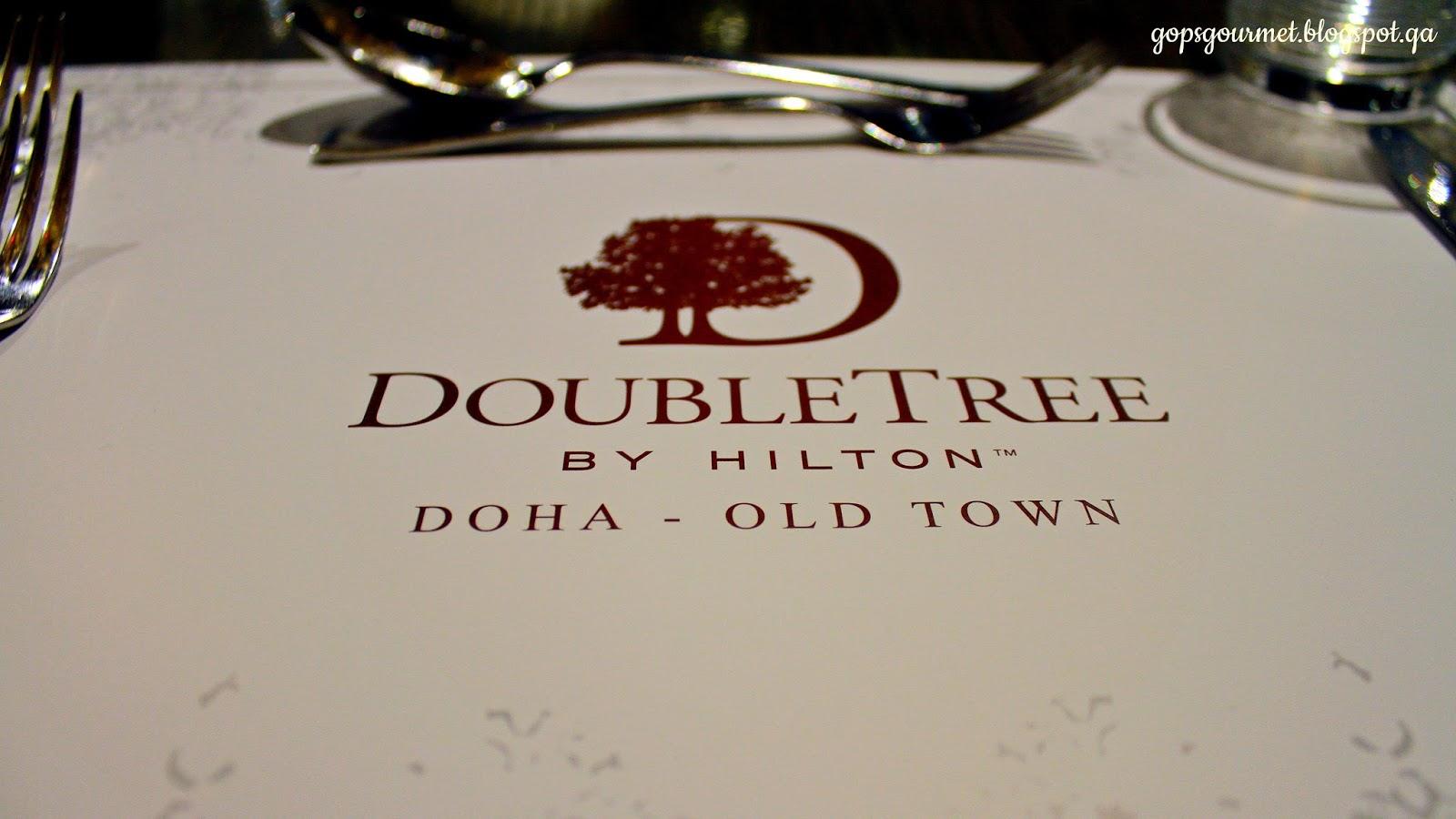 gop' s gourmet: l2 doubletree, hilton doha