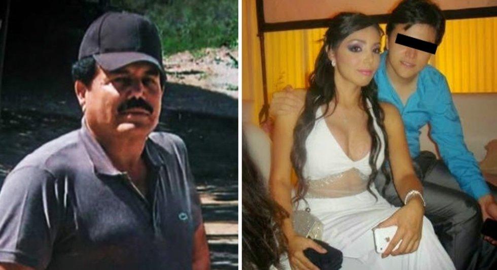 """Ella es María Teresa... la sensual hija de """"El Mayo"""" Zambada, líder del Cártel de Sinaloa"""