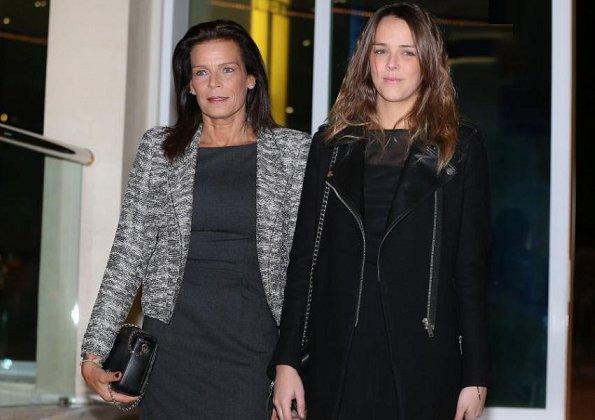 Princess Stephanie and her daughter Pauline Ducruet attend the Fight Aids Monaco Gala