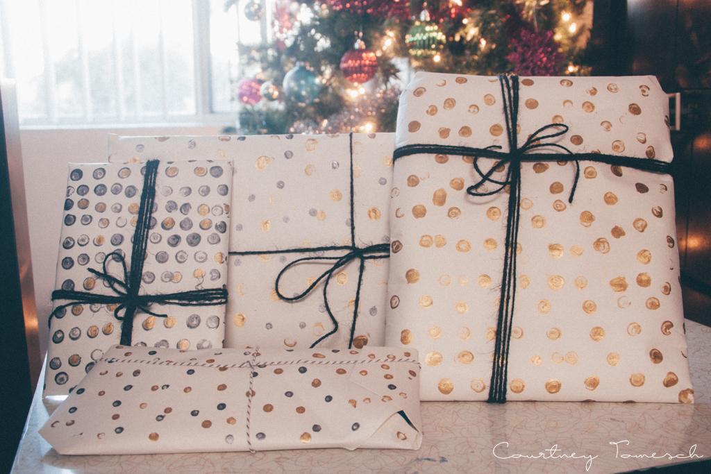 Courtney Tomesch DIY Gift Wrap