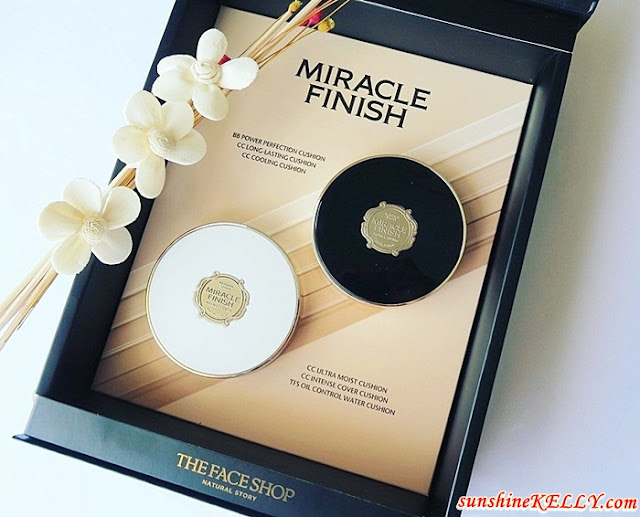 Review THE FACE SHOP Miracle Finish Cushion Foundation