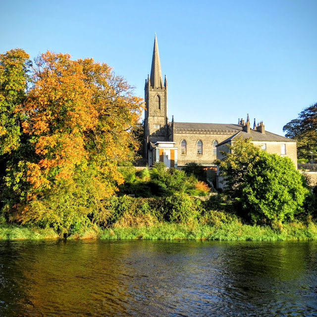A Church in Sligo Town viewed across the Garavogue River