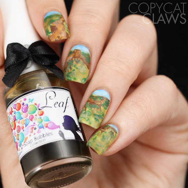 Asia nail art