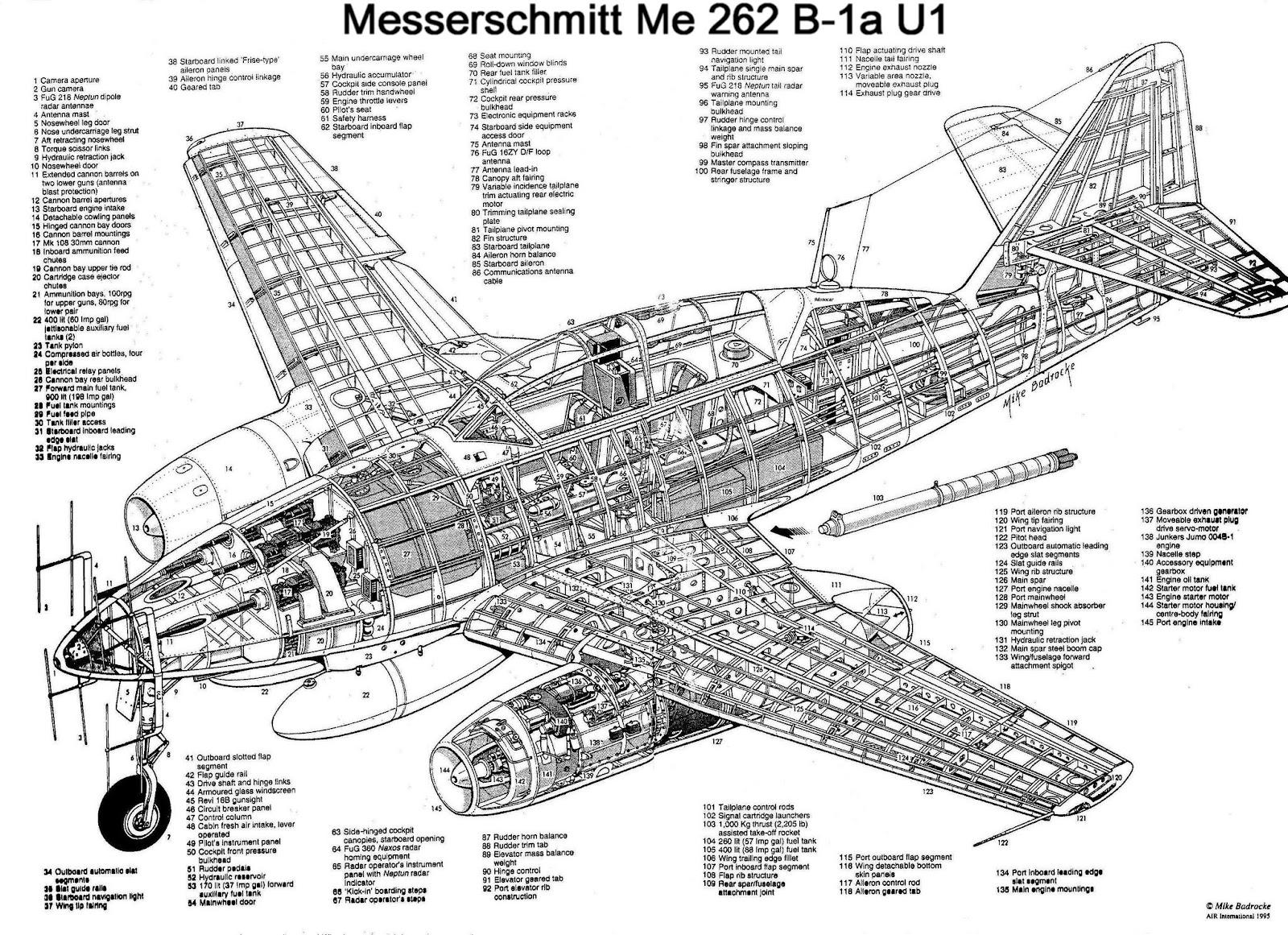Avioes Militares Messerschmitt Me 262 Schwalbe Sturmvogel
