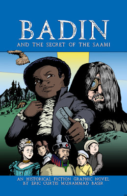 Badin and the Secret of the Saami graphic novel cover