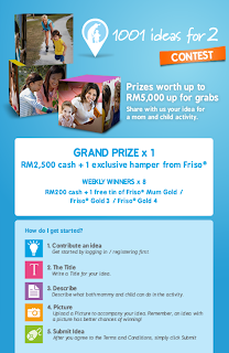 friso - CONTEST - [ENDED] Win cash and FRISO products