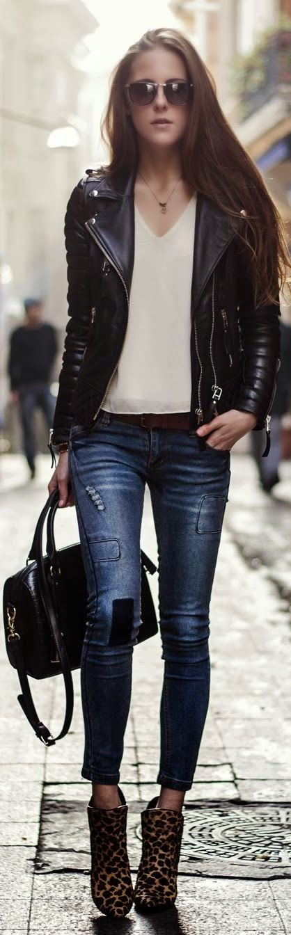 DeaTwilightZone - jeans e ankle boots