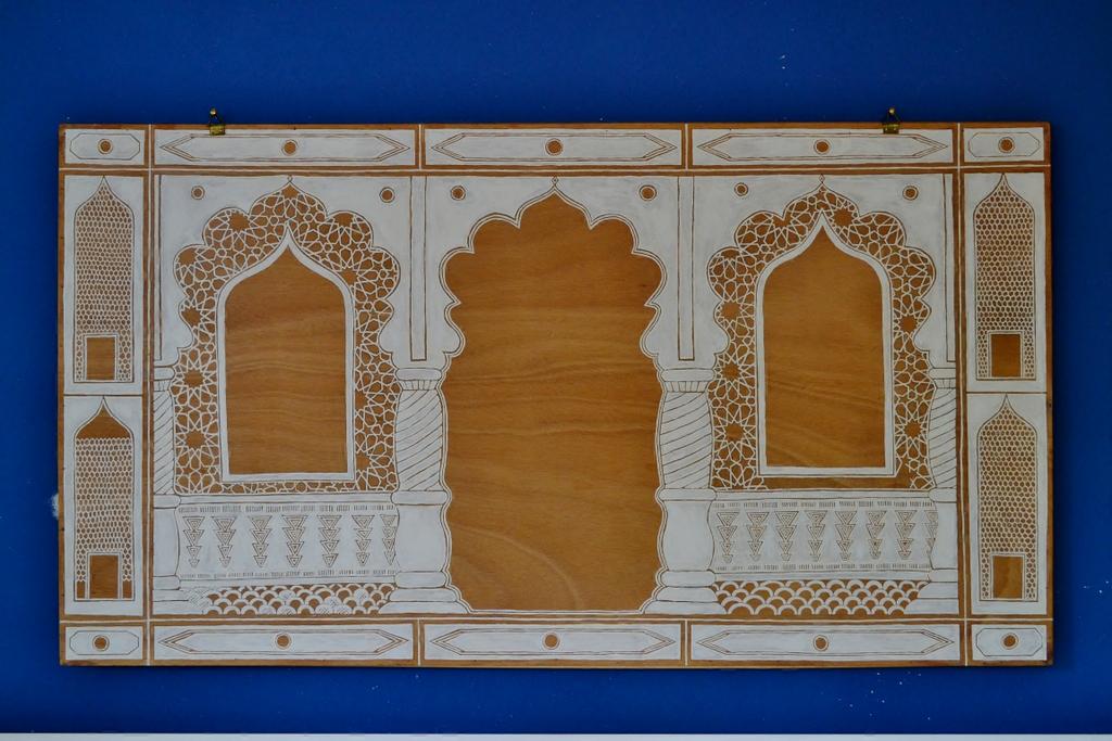 Teodeco Indian Arches Painting Gemalte Indische Bögen