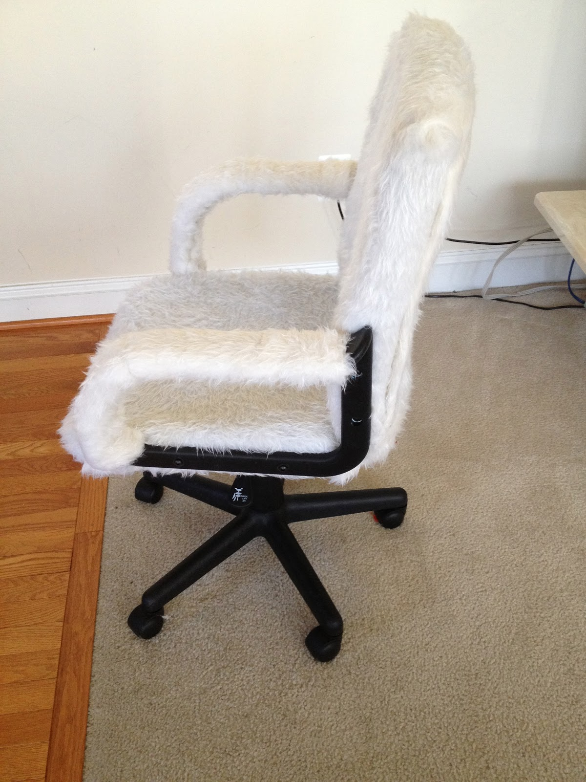 Reupholster Office Chair Back Wishbone Chairs Overstock An Luxe Millennial