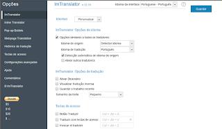 ImTranslator tradutor para o Navegador Opera