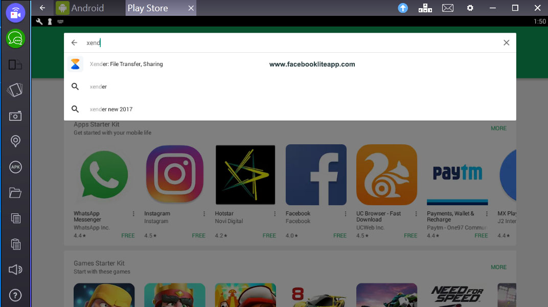 download facebook apk for pc windows 7