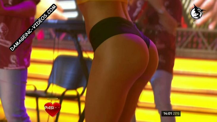 Cristina Encina hot booty in shorts Damageinc Videos HD