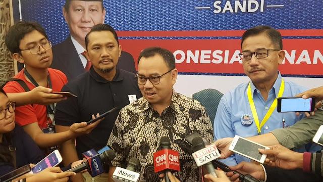 Soal Kemungkinan Prabowo Mundur, BPN: Itu Warning