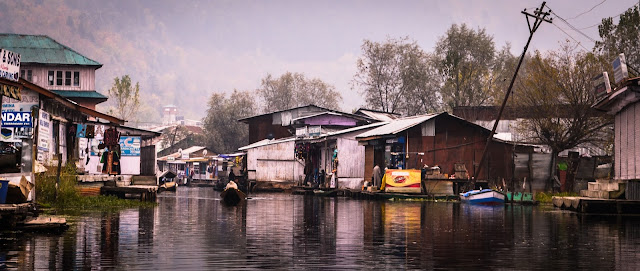 Market on water...Only on Dal lake