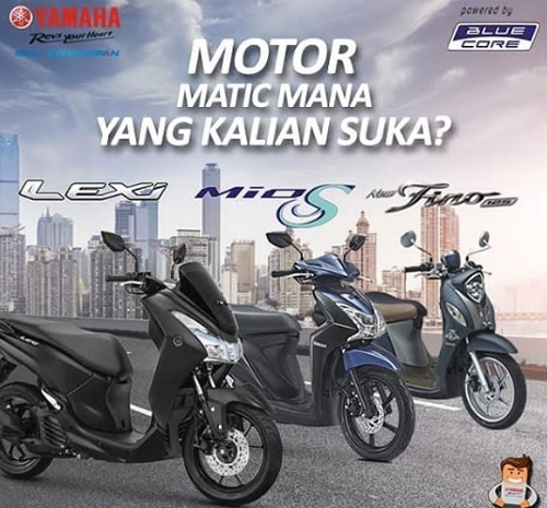 DP Murah 500 Yamaha Matic