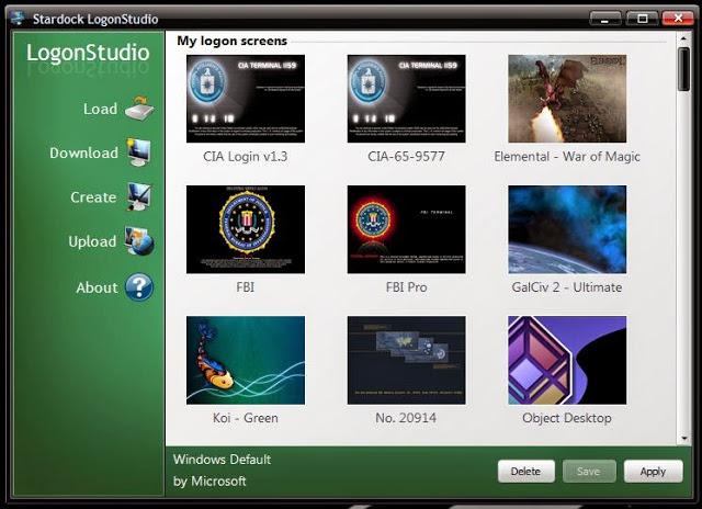 تحميل برنامج LogonStudio لتغير رسالة ترحيب الويندوز عند التشغيل