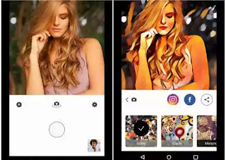 Aplikasi edit foto prisma