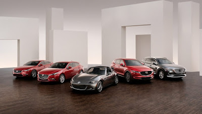 2018 Mazda lineup