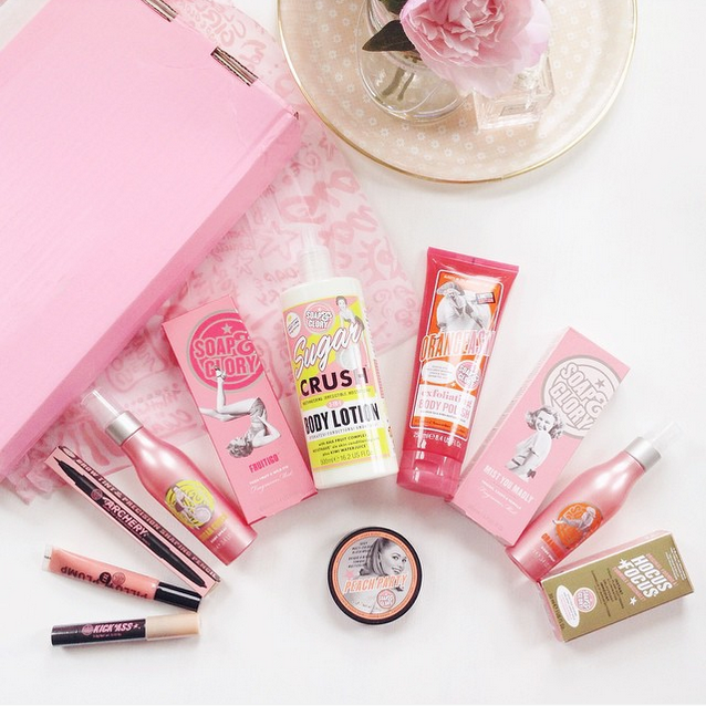 soap and glory beauty, beauty haul