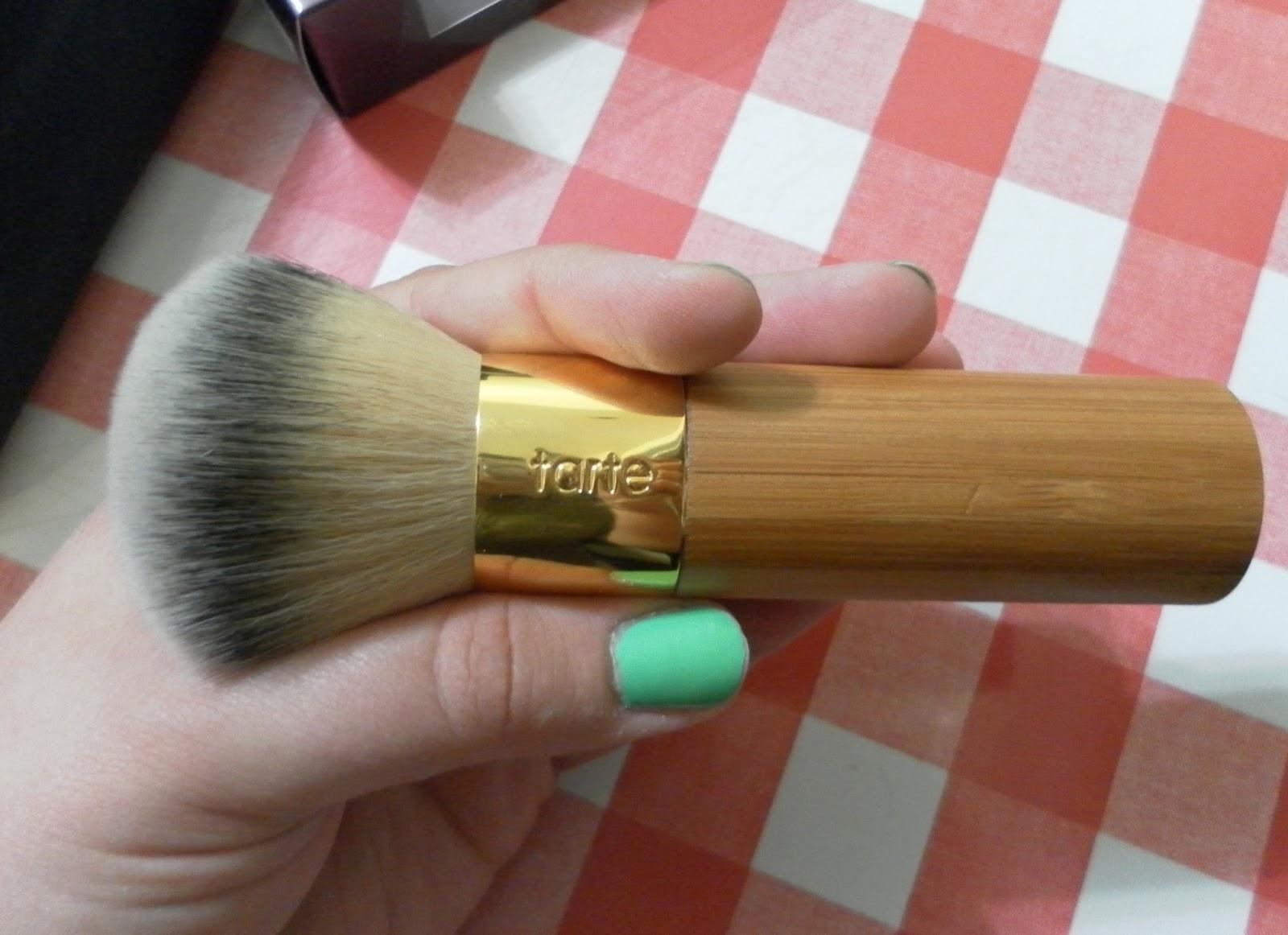 The Buffer Airbrush Finish Bamboo Foundation Brush by Tarte #3