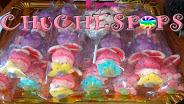 Brochetas de chuches flor