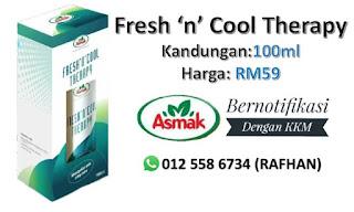 fresh n cool therapy. gel amani