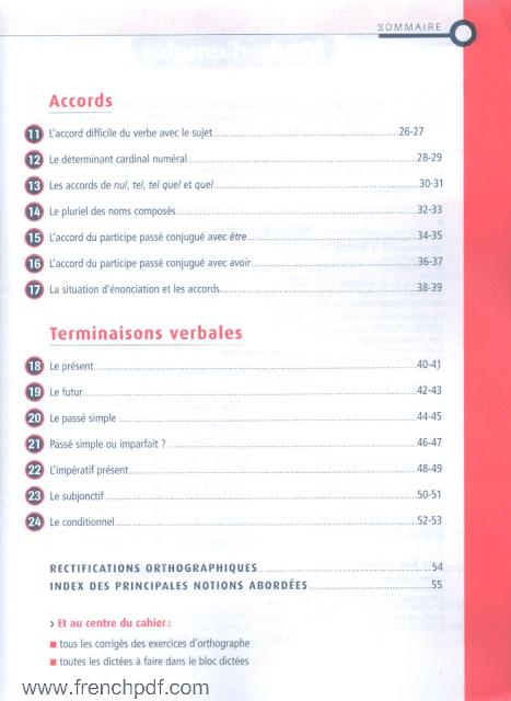 Bescherelle exercices et dictés pdf gratuit Niveau 13-14 ans
