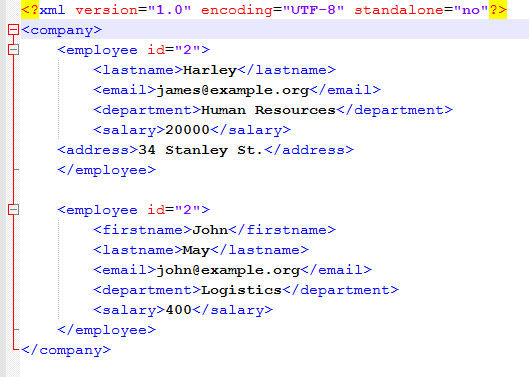 Read an XML File in Java (DOM Parser) ~ Raju Blog