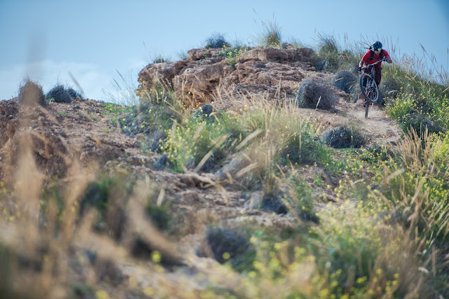 Región de Murcia, mountain bike en la Costa Cálida