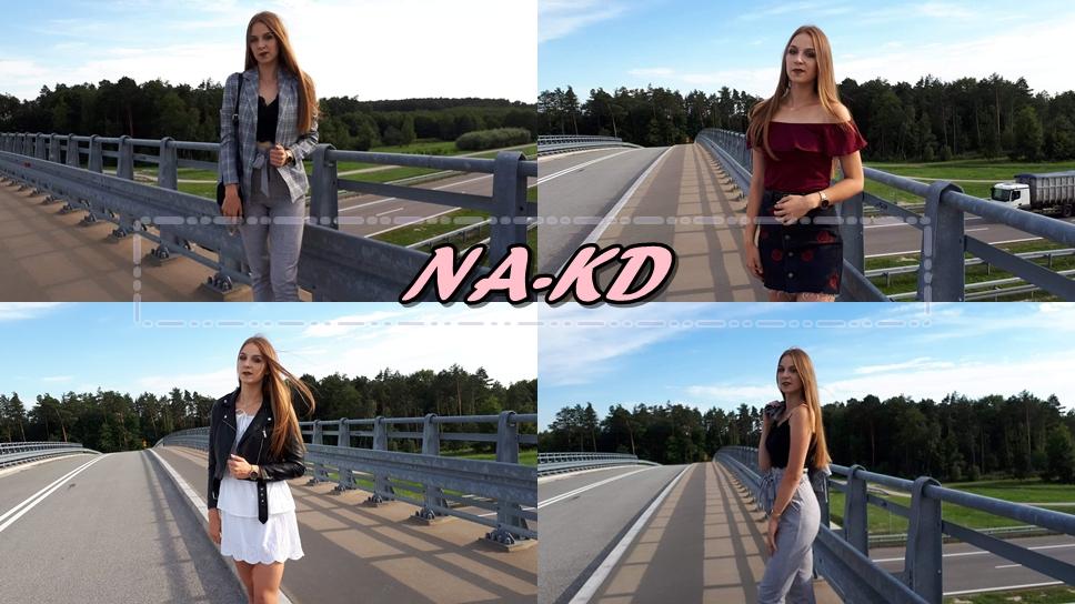 Trendy ostatnich miesięcy czyli - koronka, kratka i hafty w stylizacjach / NA-KD