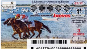 decimos del sorteo de lotería nacional del jueves 24 de agosto