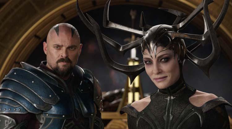 Cate Blanchett es Hela en Thor: Ragnarok