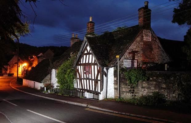 Ten Haunted Abandoned Houses In The World | Ancient Ram Inn, Gloucestershire, England