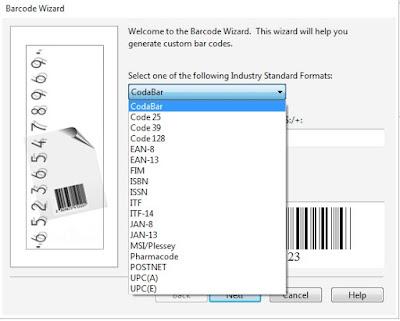 Cara Membuat Barcode di CorelDraw