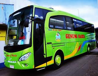 Harga Tiket Bus Gunung Harga Terbaru 2017