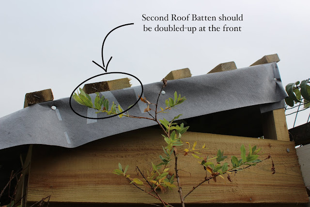 how to build a roof for your shed