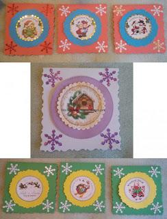 Małe karteczki-zawieszki