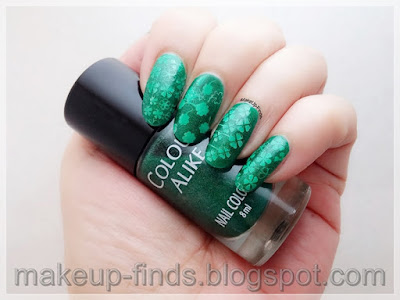 Stamping: Manicura St.Patrick'Day (Dream Girl 03,04,06)
