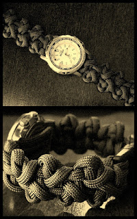 'Beanstalk Bar' paracord watchband